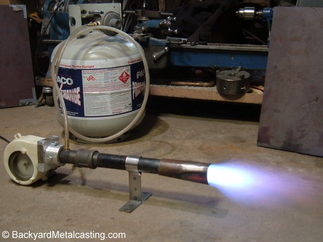 aka forced air burners for propane and natural gas - Homemade Propane Forge Design