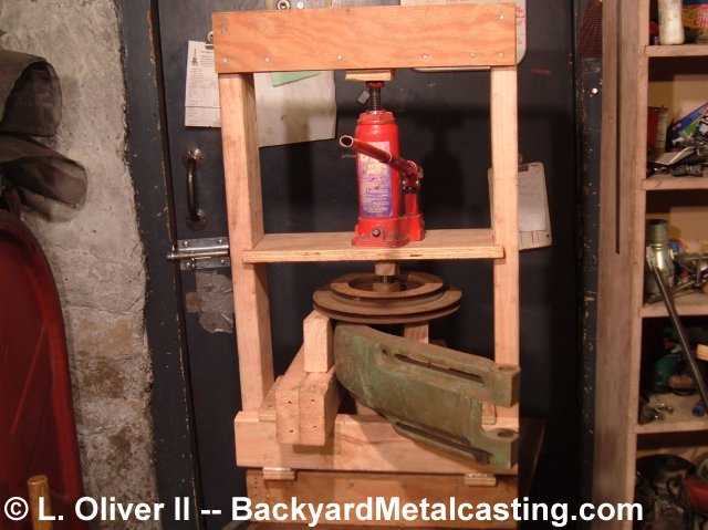 homemade hydraulic press plans
