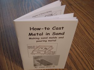 How-to cast metal in sand
