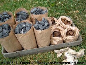 "Backyard Metal Casting Furnace a homemade ""blast"" furnace 2"