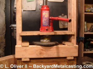 Homemade Hydraulic Press