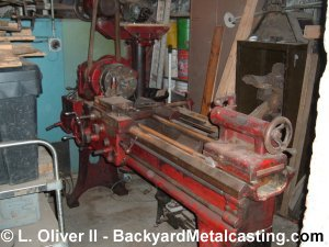 south bend lathe for sale. http://www.backyardmetalcasting.com/scrapiron03.html south bend lathe for sale