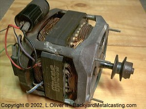 Building my gingery style lathe for How much is a washing machine motor