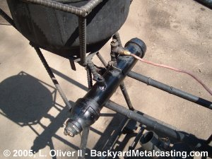 Oil heater assembly