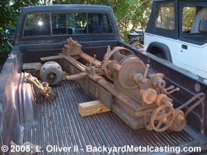 The third lathe used for parts