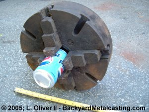 The dirty 4-jaw chuck