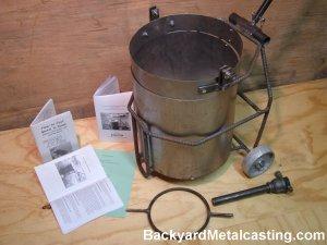 Backyard Metal Casting Furnace metalcasting supplies
