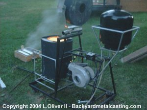 melt iron as easily as most backyard metalcasters can melt aluminum