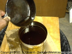 I Collect Used Cooking Oil By Pouring It Into A Steel Can Straight From The Frying Pan Every Time Some Fish Or En Is Fried Pour This