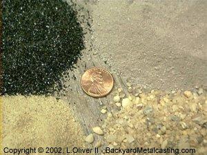 Mixing greensand
